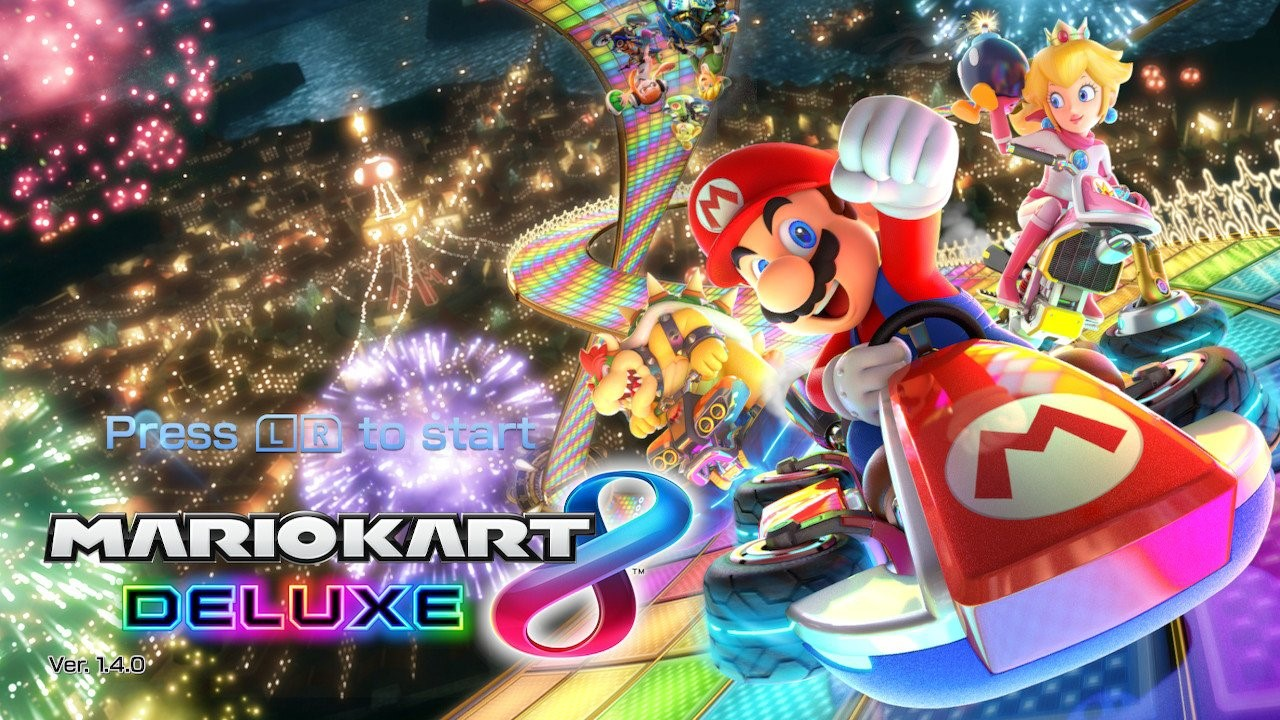 Christmas Mario Kart.Mario Kart 8 Deluxe Solomon Rambling